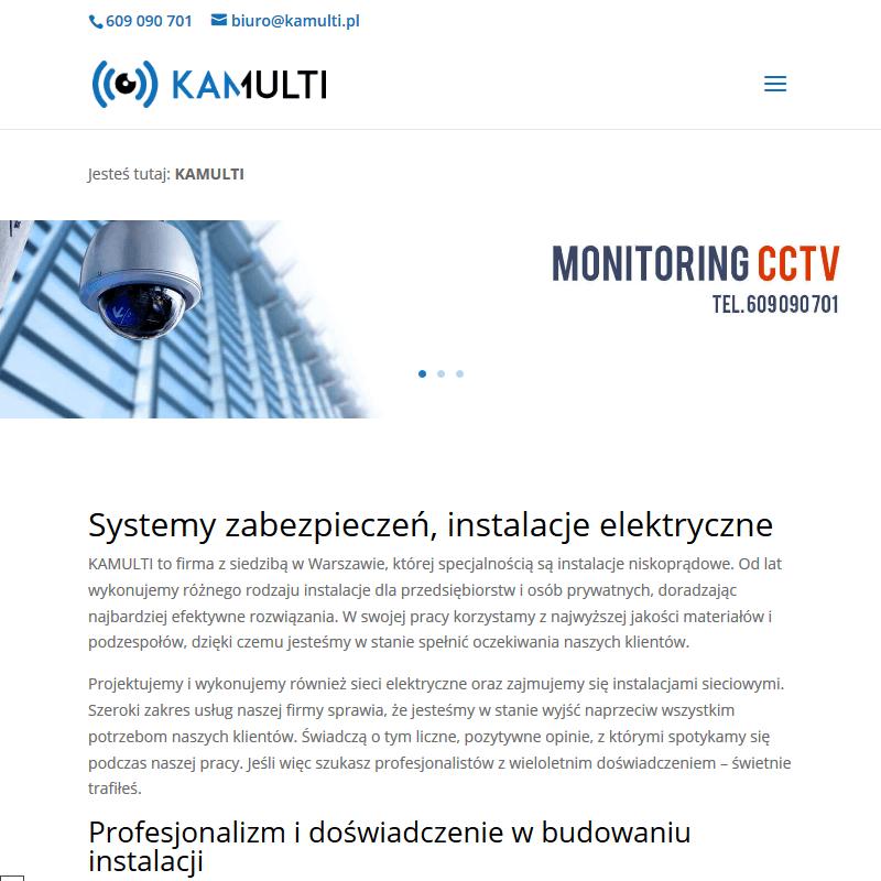 Instalacja kamer - Warszawa