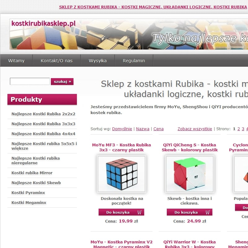 Profesjonalna kostka Rubika