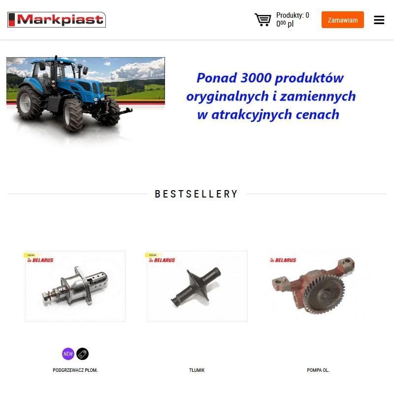 Części do maszyn Pronar, Belarus i MTZ 82