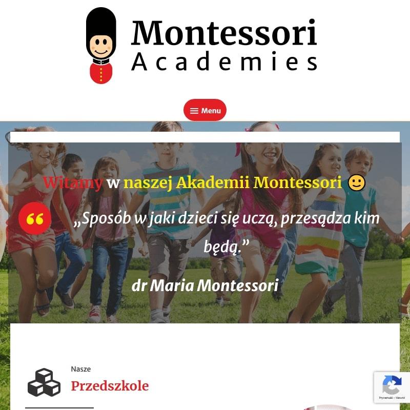 Prywatne przedszkole Montessori w Łomiankach