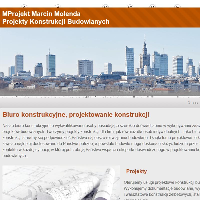 Projekty konstrukcji - Warszawa