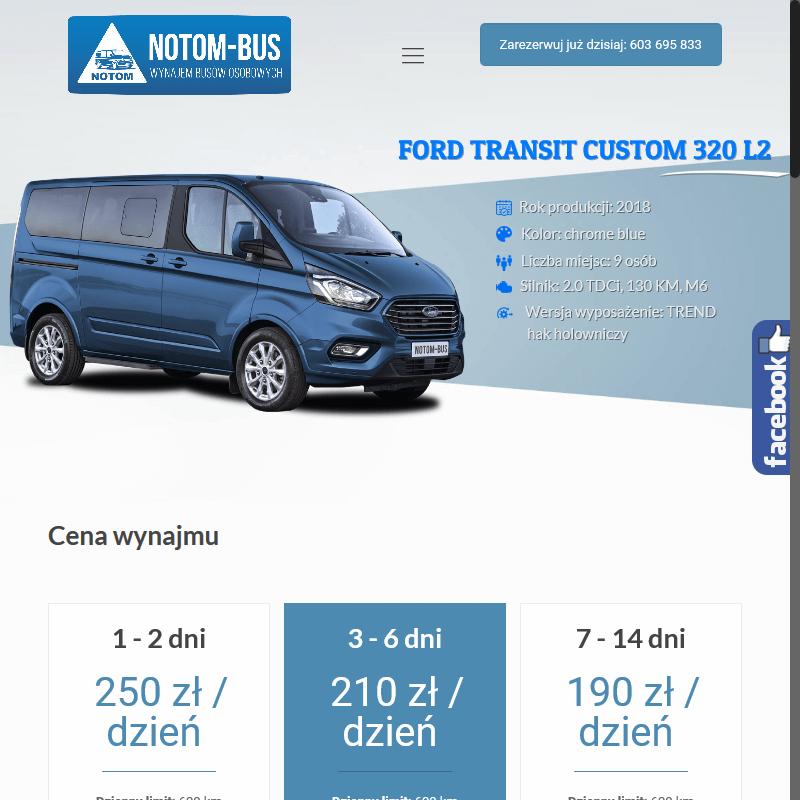 Tania wypożyczalnia busów - Krotoszyn