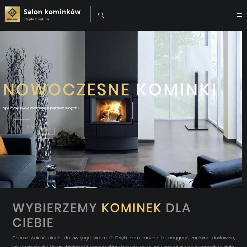 Kominki do salonu - Polkowice