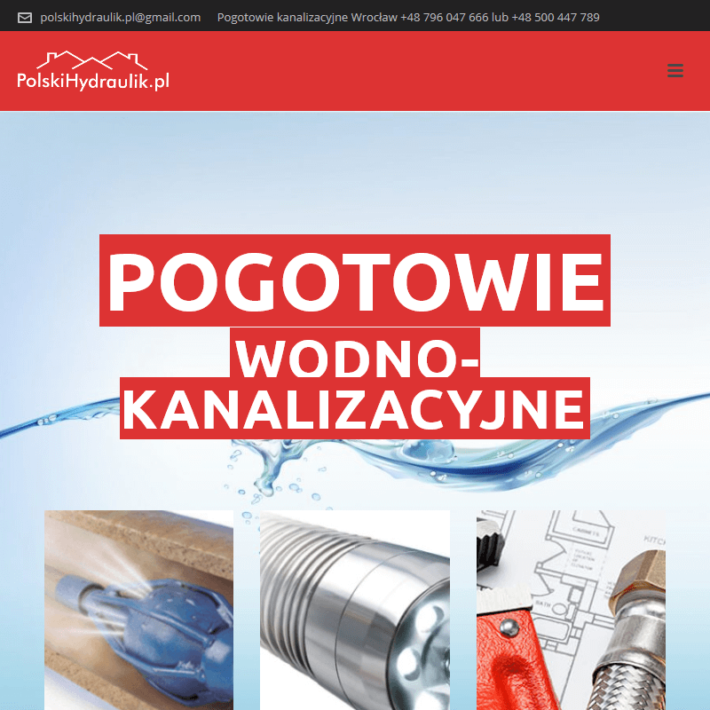 Pogotowie wodociągowe - Wrocław