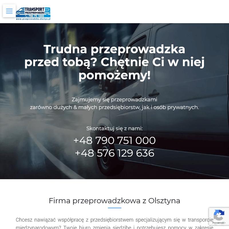 Transport międzynarodowy z Olsztyna