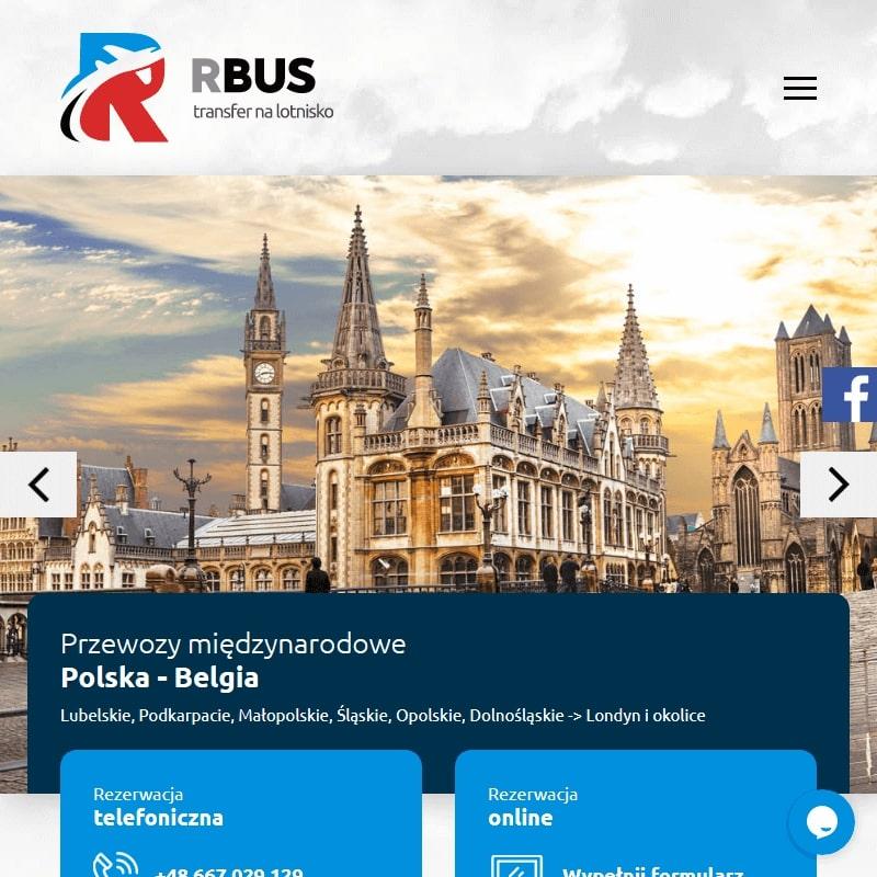Przewóz osób z Londynu do Polski