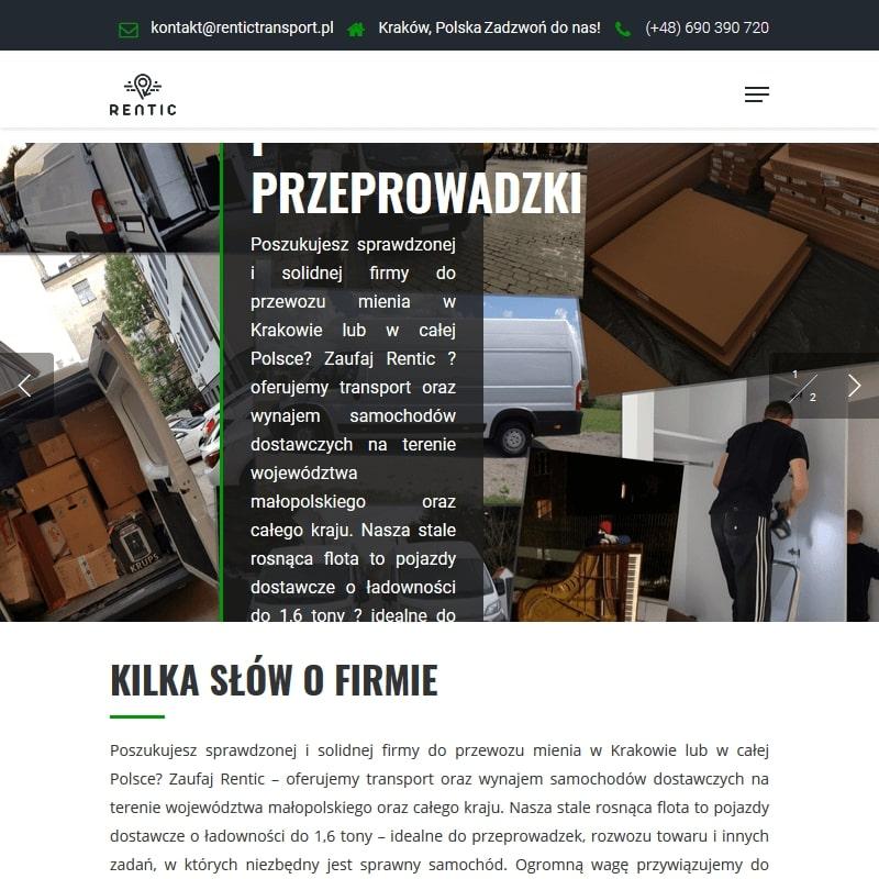 Firma do przeprowadzek w Małopolsce