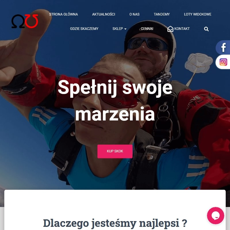 Szkoła spadochronowa – województwo śląskie