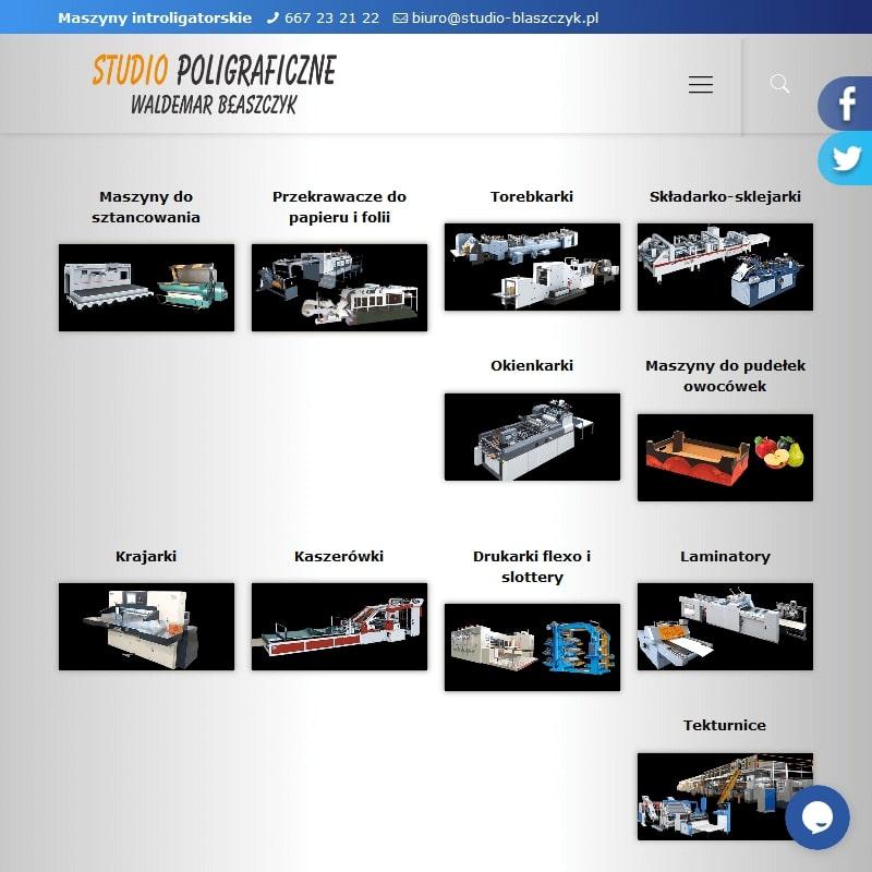 Profesjonalne maszyny poligraficzne
