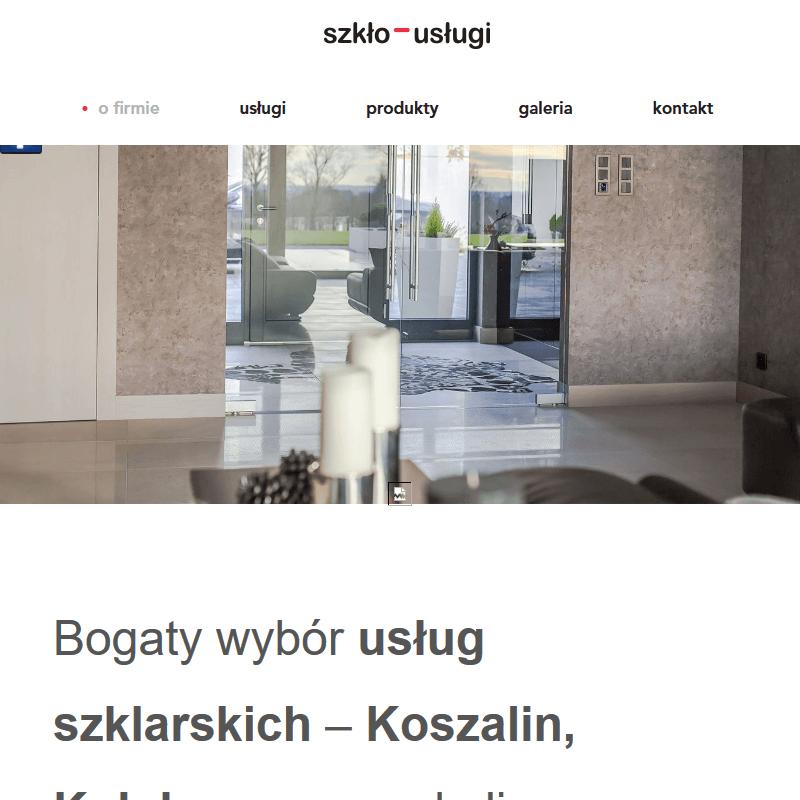 Szkło na wymiar - Kołobrzeg