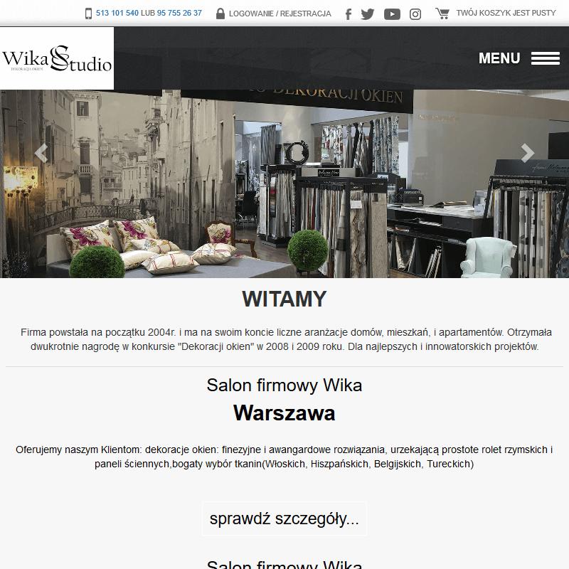 Dekoracja okien - Warszawa