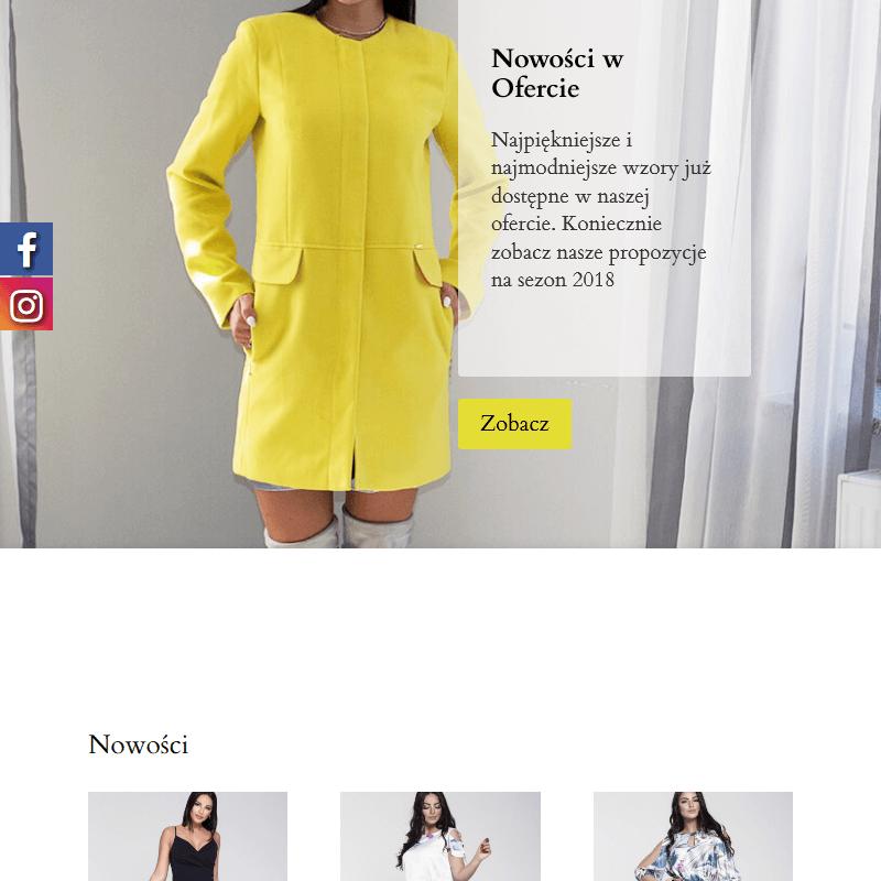 Elegancka sukienka koktajlowa